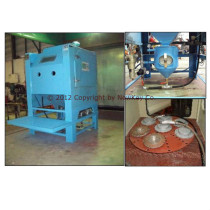 Pressure Blast Cabinet Machine RPV - 1000 with Turn Table